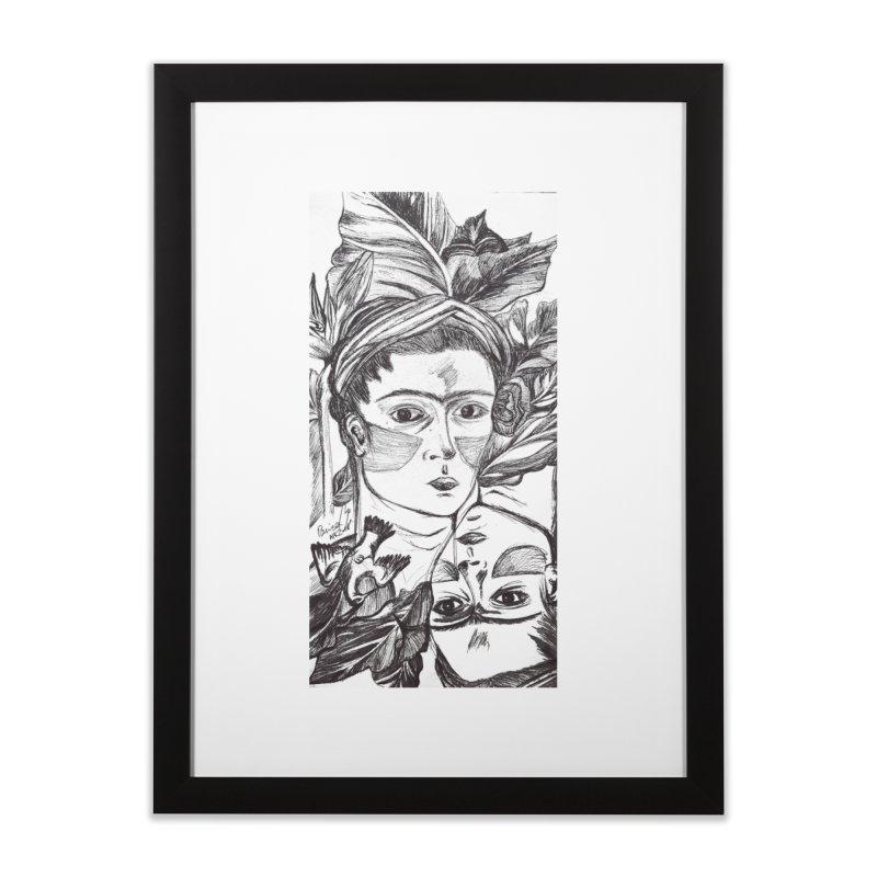 Parisa Talezadeh Home Framed Fine Art Print by Misterdressup