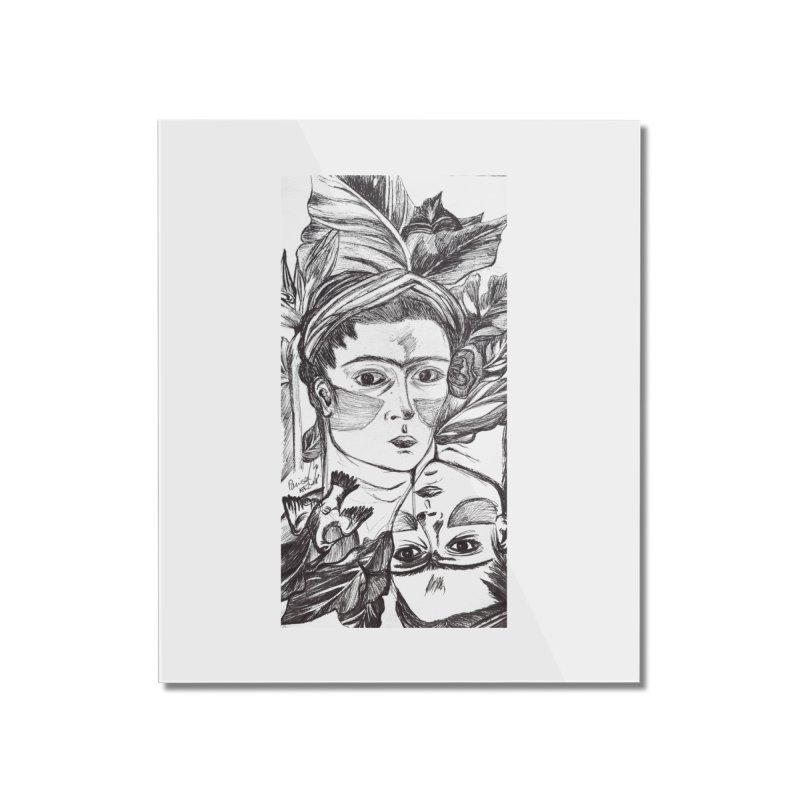 Parisa Talezadeh Home Mounted Acrylic Print by Misterdressup