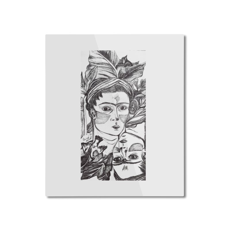 Parisa Talezadeh Home Mounted Aluminum Print by Misterdressup