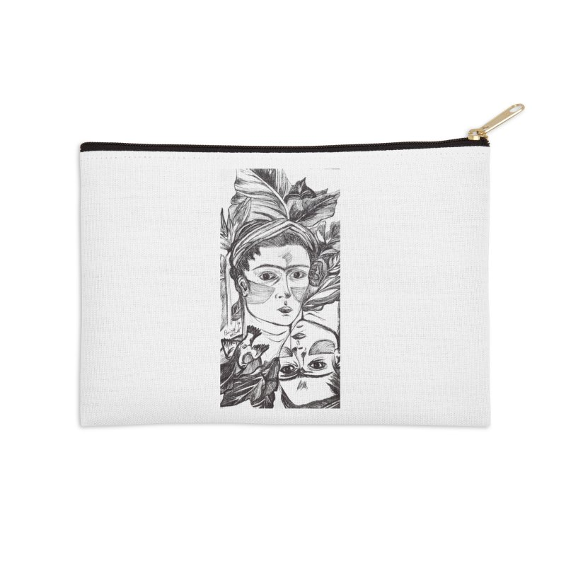Parisa Talezadeh Accessories Zip Pouch by Misterdressup