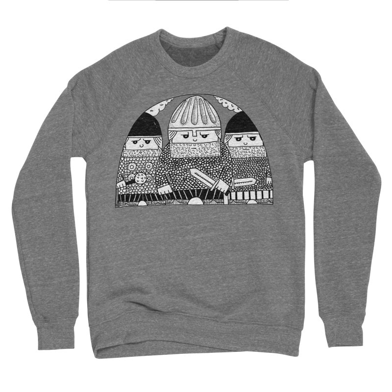 Pavel Shevchenko Men's Sponge Fleece Sweatshirt by Misterdressup
