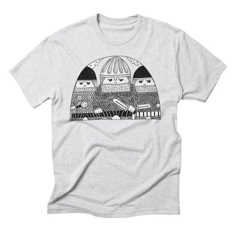 Pavel Shevchenko Men's Triblend T-Shirt by Misterdressup