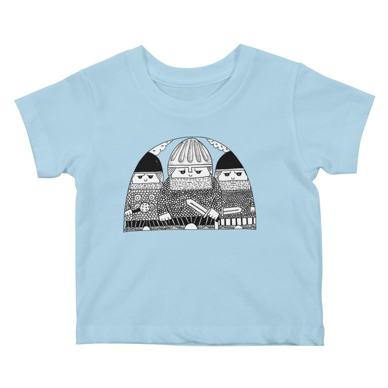 Pavel Shevchenko Kids Baby T-Shirt by Misterdressup