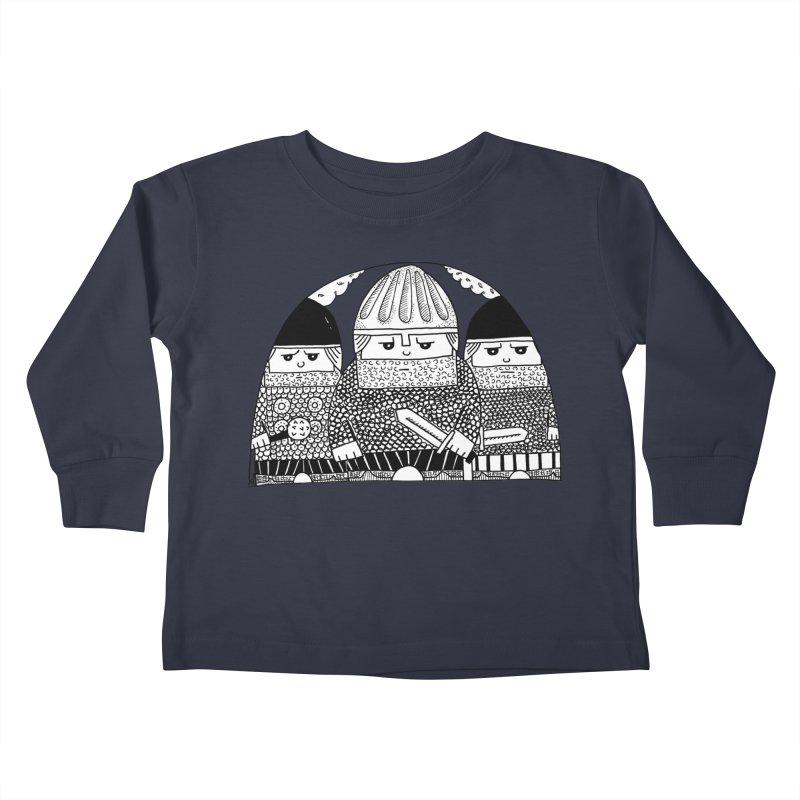 Pavel Shevchenko Kids Toddler Longsleeve T-Shirt by Misterdressup