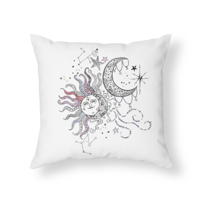 Stacie Charlton Home Throw Pillow by Misterdressup