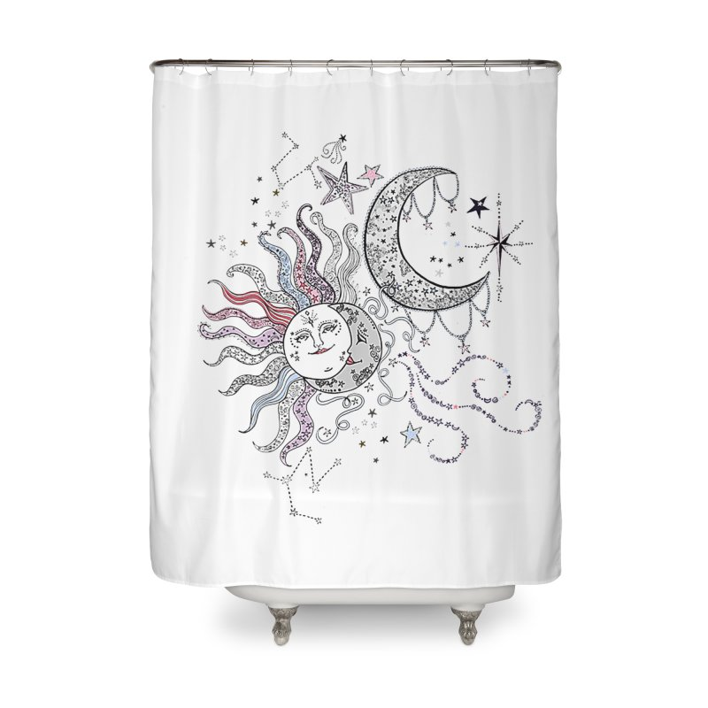 Stacie Charlton Home Shower Curtain by Misterdressup