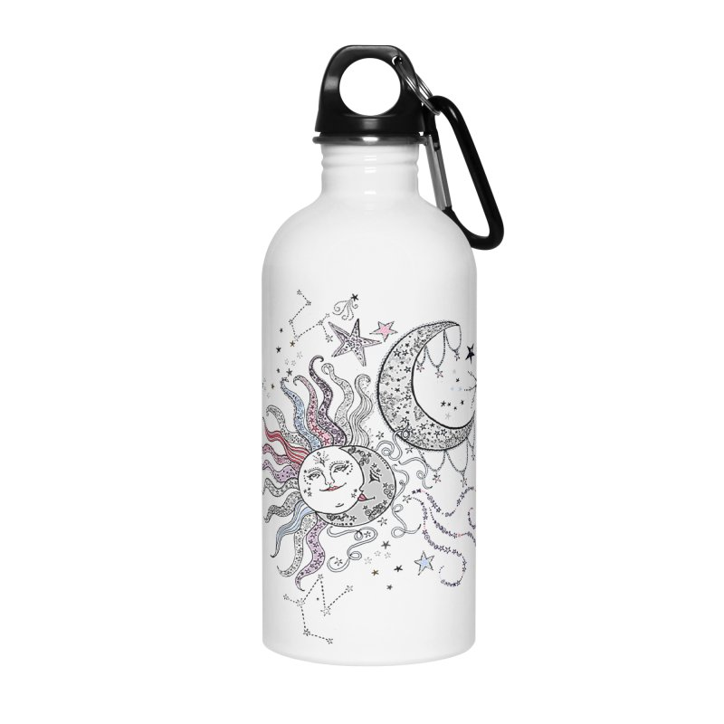 Stacie Charlton Accessories Water Bottle by Misterdressup