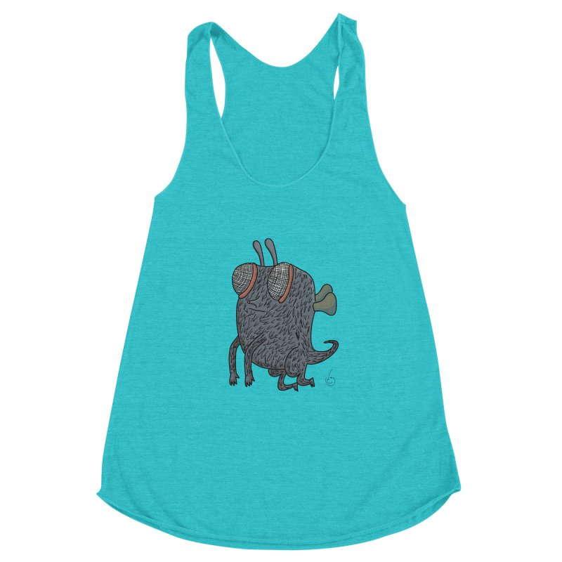 Just Chillin Women's Racerback Triblend Tank by Misterdressup