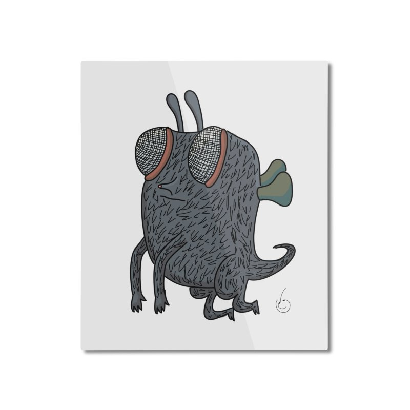 Just Chillin Home Mounted Aluminum Print by Misterdressup