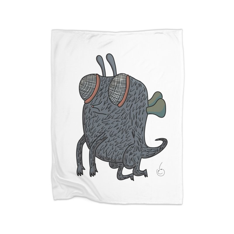 Just Chillin Home Fleece Blanket Blanket by Misterdressup