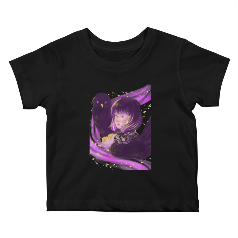 Dana Mapalad - 'Allure' Kids Baby T-Shirt by Misterdressup