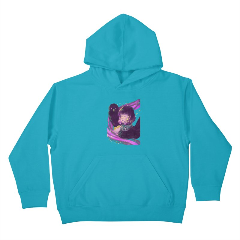 Dana Mapalad - 'Allure' Kids Pullover Hoody by Misterdressup