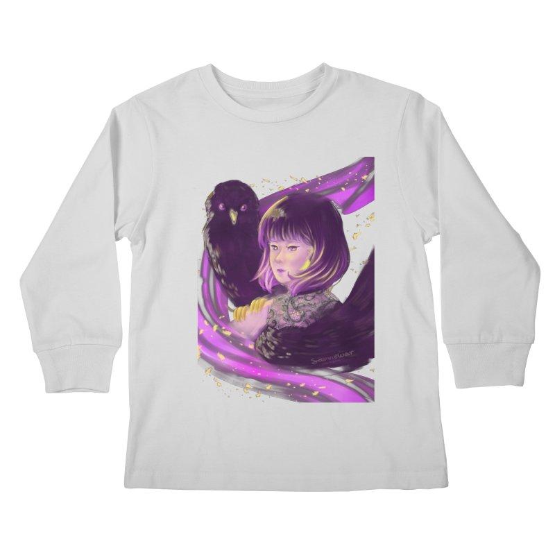 Dana Mapalad - 'Allure' Kids Longsleeve T-Shirt by Misterdressup