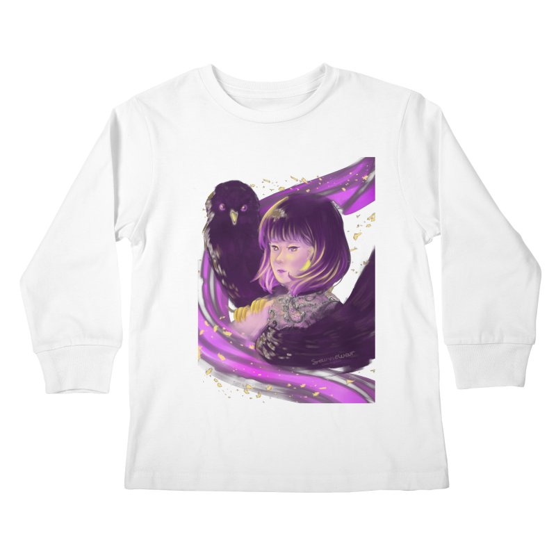 Dana Mapalad - 'Allure' Kids Longsleeve T-Shirt by Misterdressup