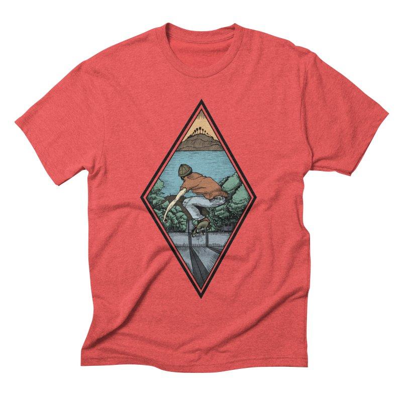 Igor Vannuci Men's Triblend T-Shirt by Misterdressup