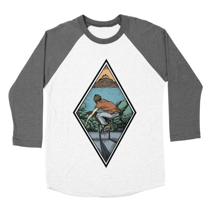 Igor Vannuci Men's Baseball Triblend Longsleeve T-Shirt by Misterdressup