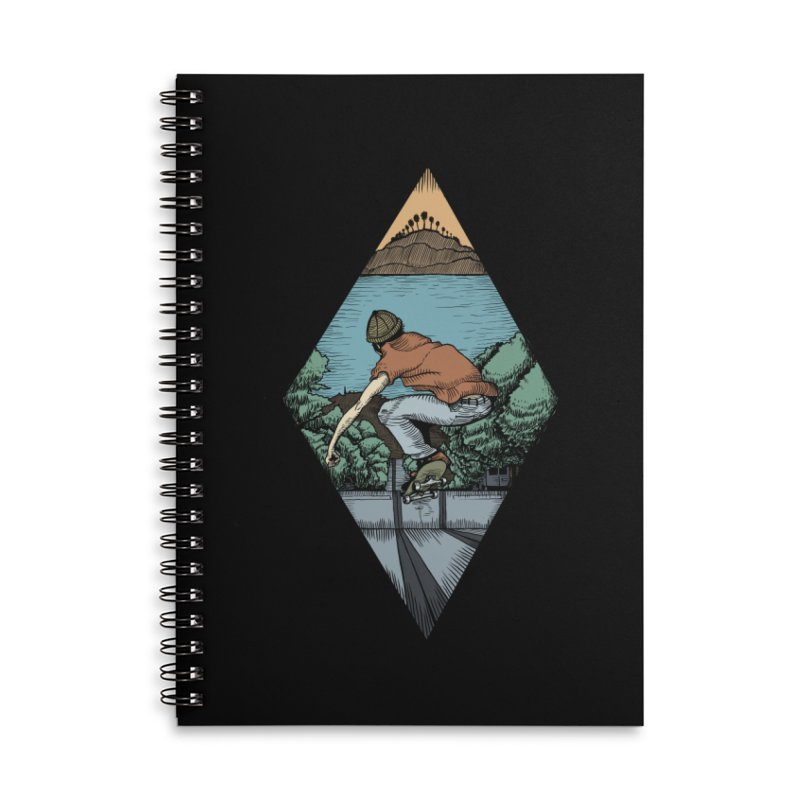 Igor Vannuci Accessories Lined Spiral Notebook by Misterdressup
