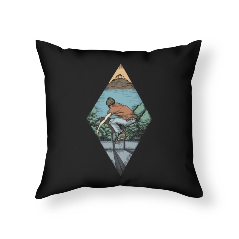 Igor Vannuci Home Throw Pillow by Misterdressup