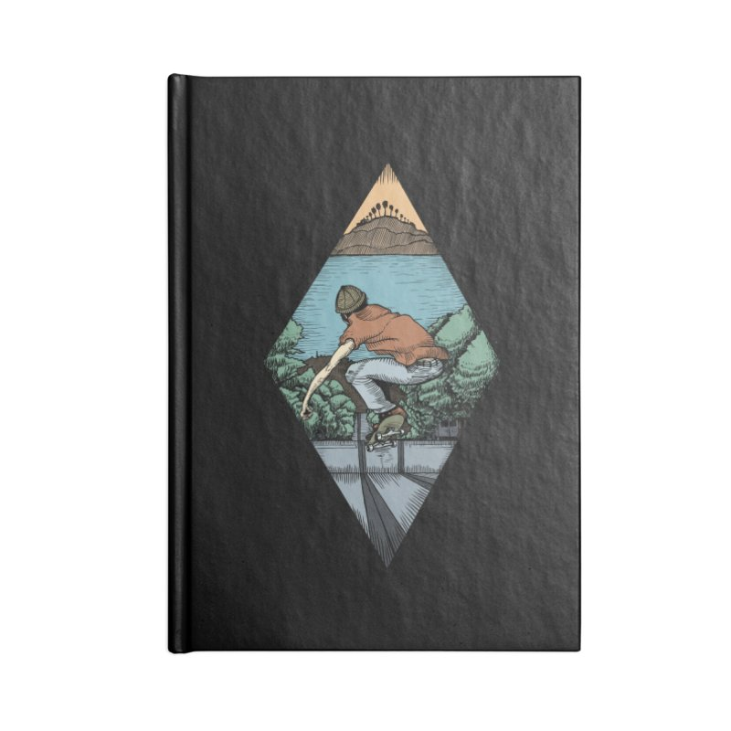Igor Vannuci Accessories Lined Journal Notebook by Misterdressup