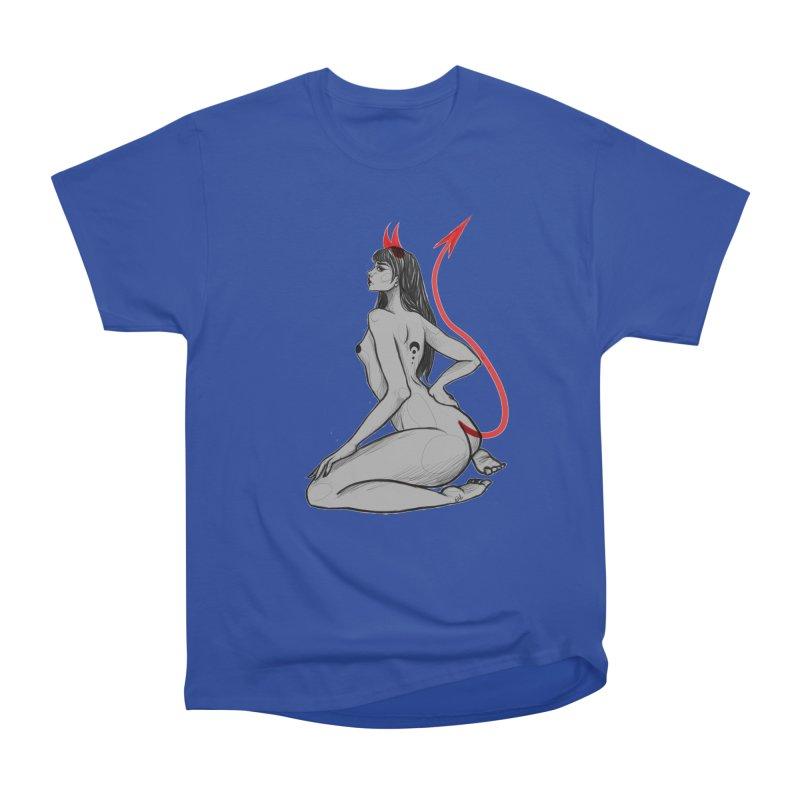 Verónica Armendariz Men's Heavyweight T-Shirt by Misterdressup