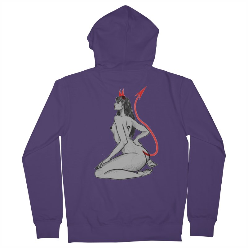 Verónica Armendariz Women's French Terry Zip-Up Hoody by Misterdressup