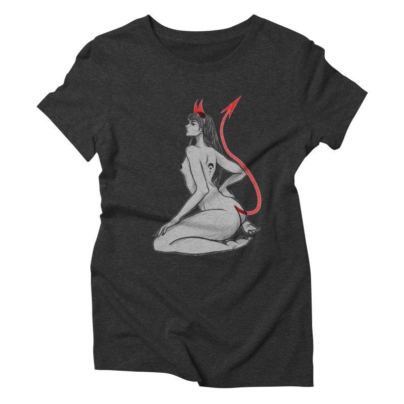 Verónica Armendariz Women's Triblend T-Shirt by Misterdressup