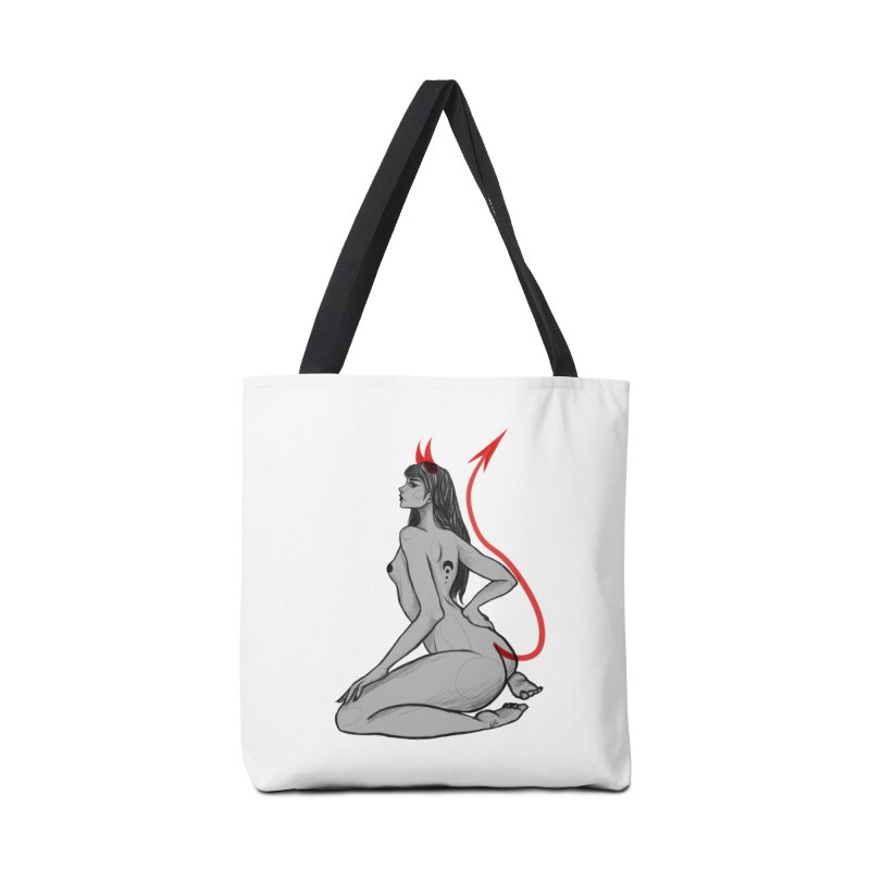 Verónica Armendariz Accessories Tote Bag Bag by Misterdressup