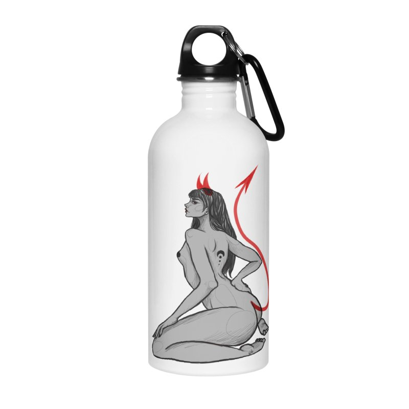Verónica Armendariz Accessories Water Bottle by Misterdressup