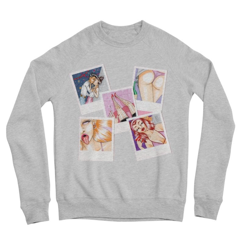 Mô.otto Women's Sponge Fleece Sweatshirt by Misterdressup