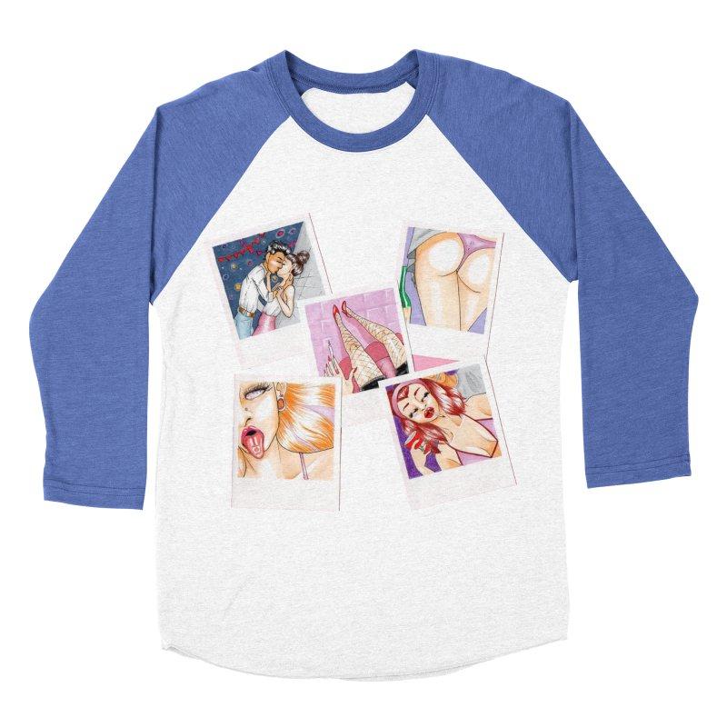 Mô.otto Women's Baseball Triblend Longsleeve T-Shirt by Misterdressup