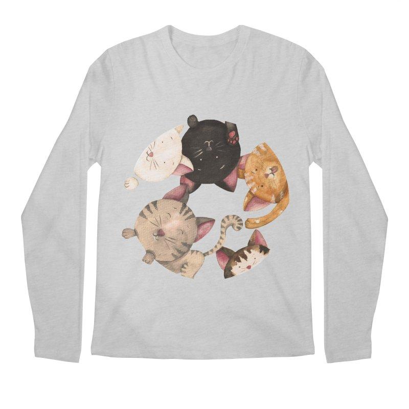 Paulina Wesolowska Men's Regular Longsleeve T-Shirt by Misterdressup
