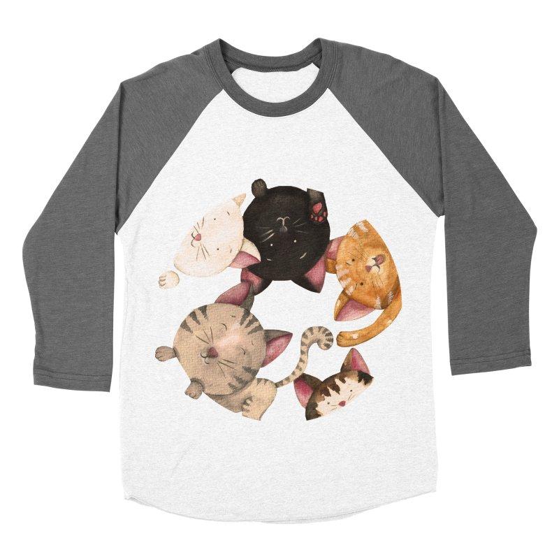 Paulina Wesolowska Men's Baseball Triblend Longsleeve T-Shirt by Misterdressup