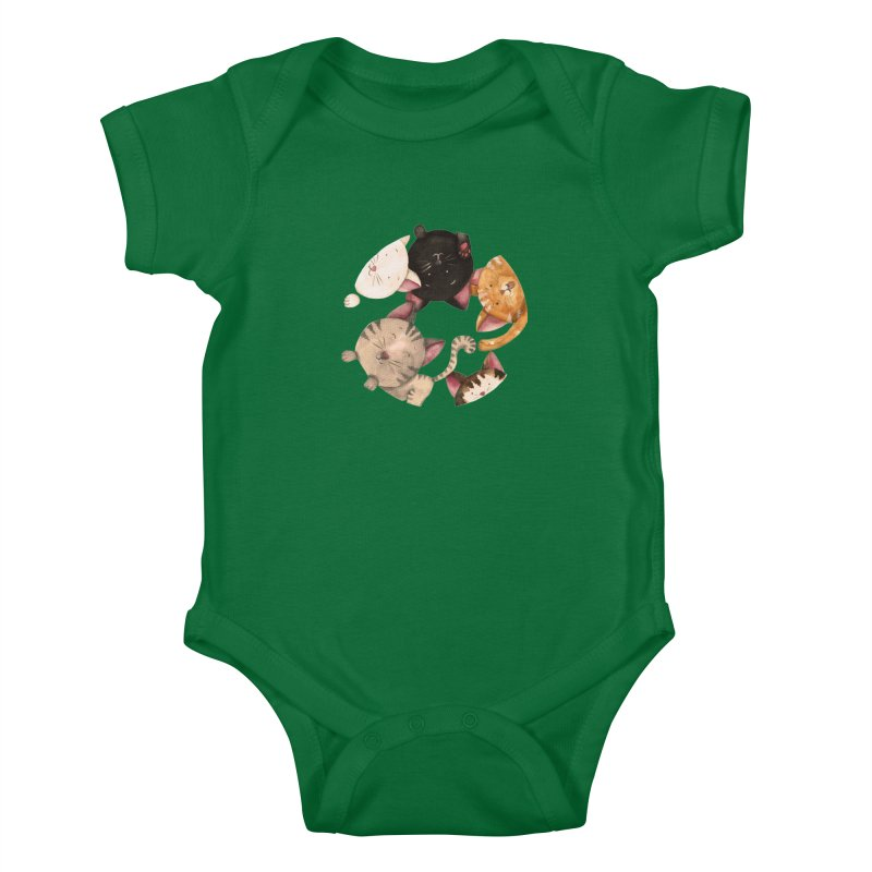 Paulina Wesolowska Kids Baby Bodysuit by Misterdressup