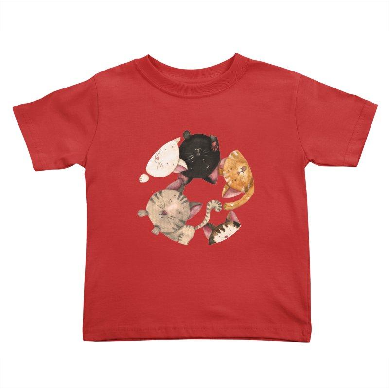 Paulina Wesolowska Kids Toddler T-Shirt by Misterdressup