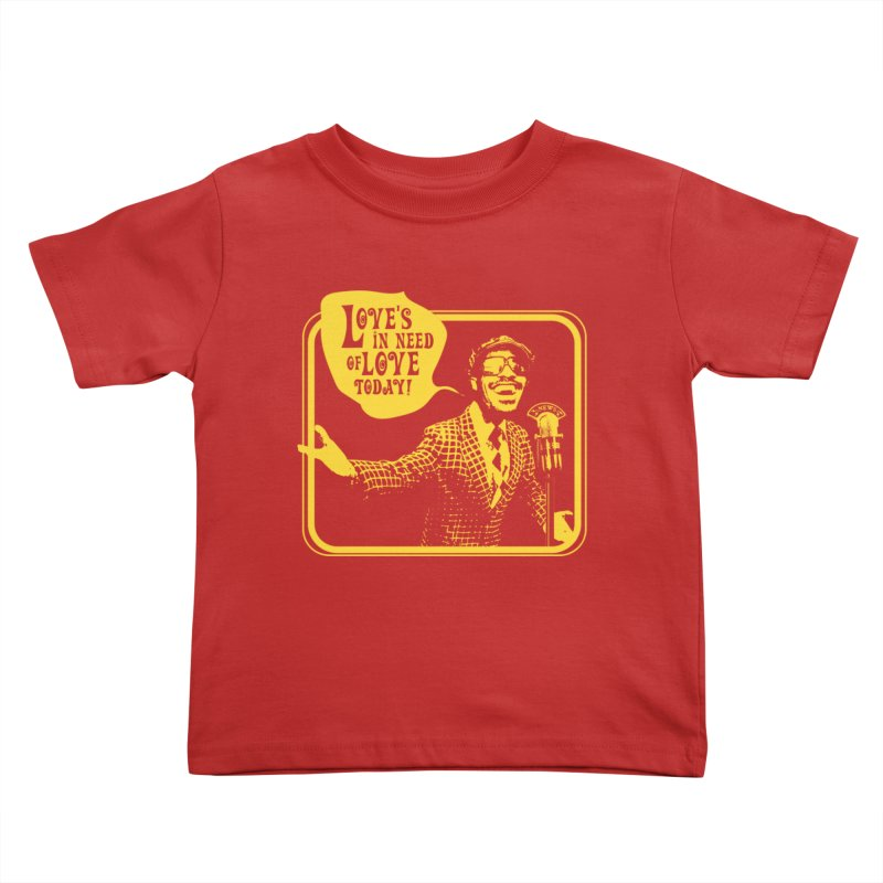 Your Friendly Announcer Kids Toddler T-Shirt by Mister Earl Grey