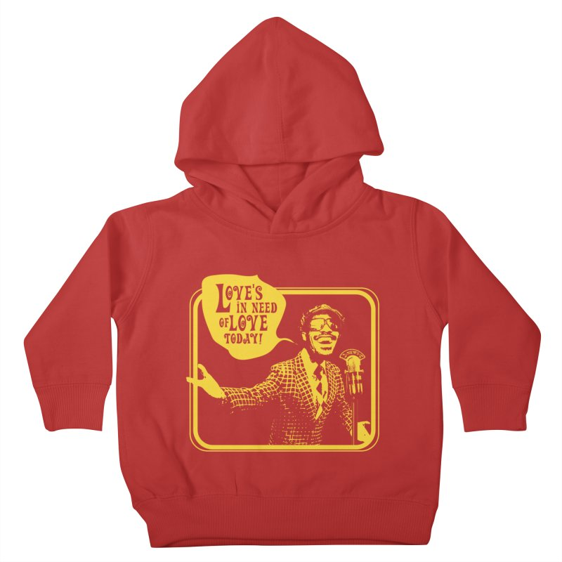 Your Friendly Announcer Kids Toddler Pullover Hoody by Mister Earl Grey