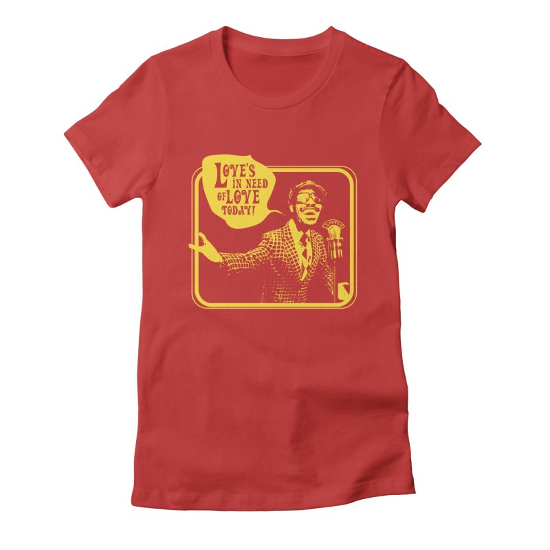Your Friendly Announcer Women's Fitted T-Shirt by Mister Earl Grey