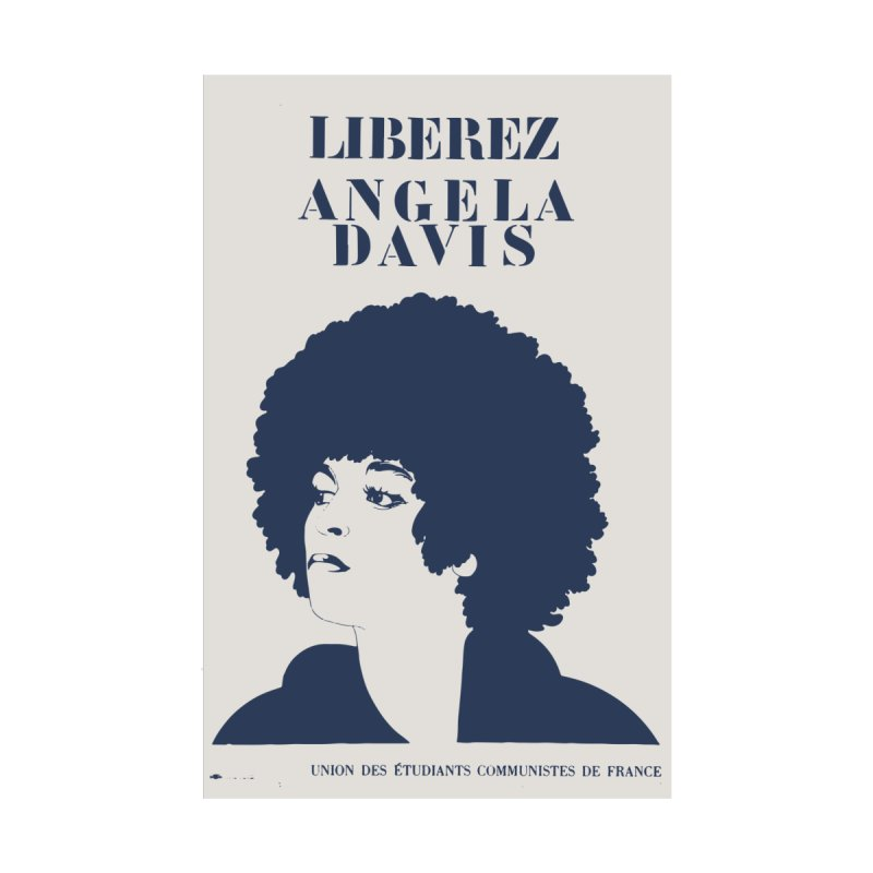 History Art Collective no.001: Liberez Angela Davis Women's Longsleeve Scoopneck  by Mister Earl Grey
