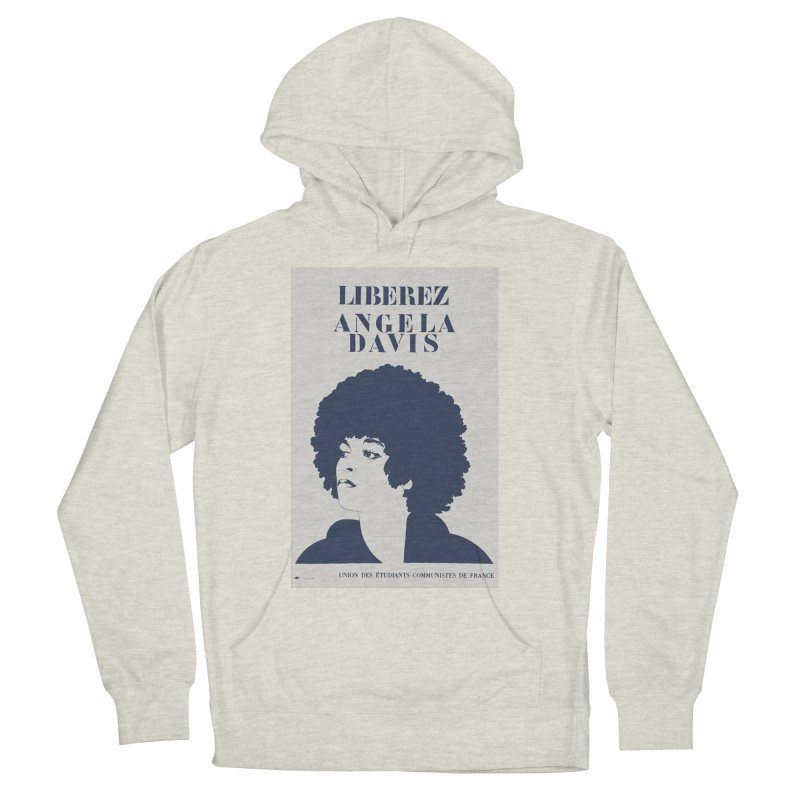 History Art Collective no.001: Liberez Angela Davis Women's Pullover Hoody by Mister Earl Grey