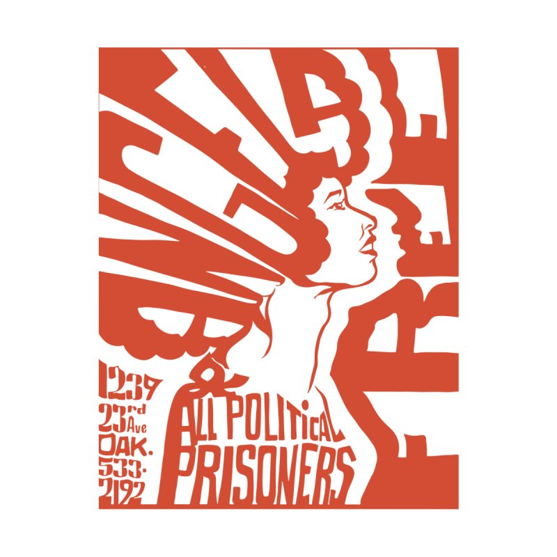 History Art Collective no.002: Free Angela Davis & All Political Prisoners Men's Sweatshirt by Mister Earl Grey