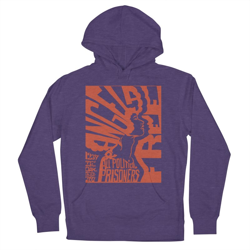 History Art Collective no.002: Free Angela Davis & All Political Prisoners Women's Pullover Hoody by Mister Earl Grey