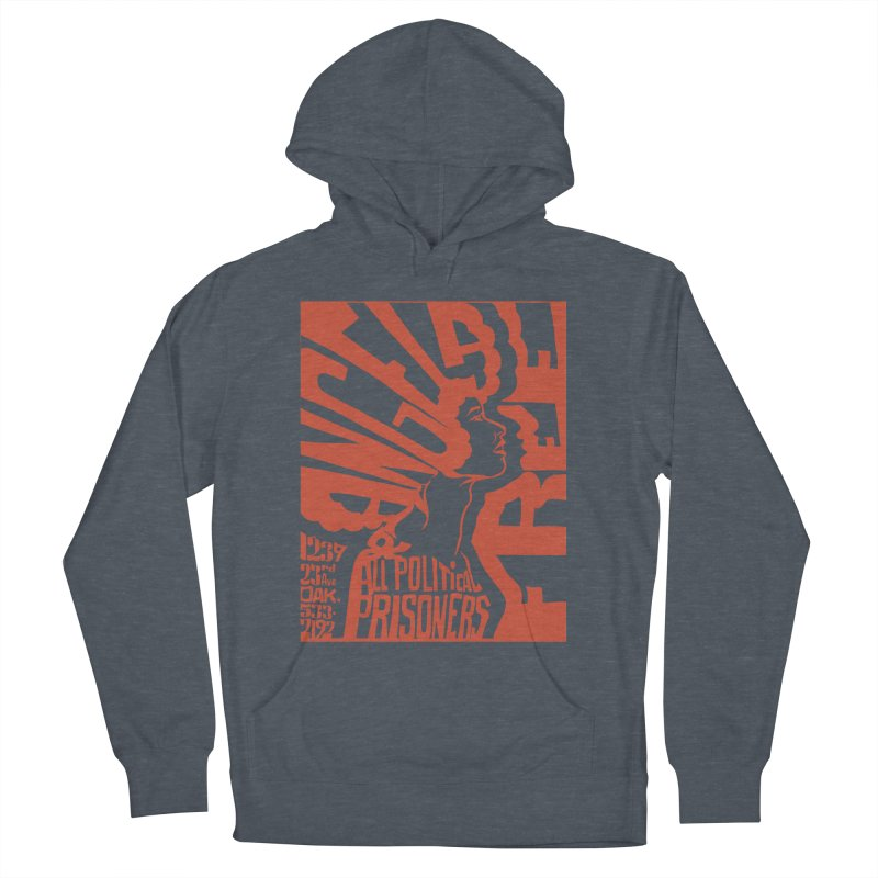 History Art Collective no.002: Free Angela Davis & All Political Prisoners Men's Pullover Hoody by Mister Earl Grey