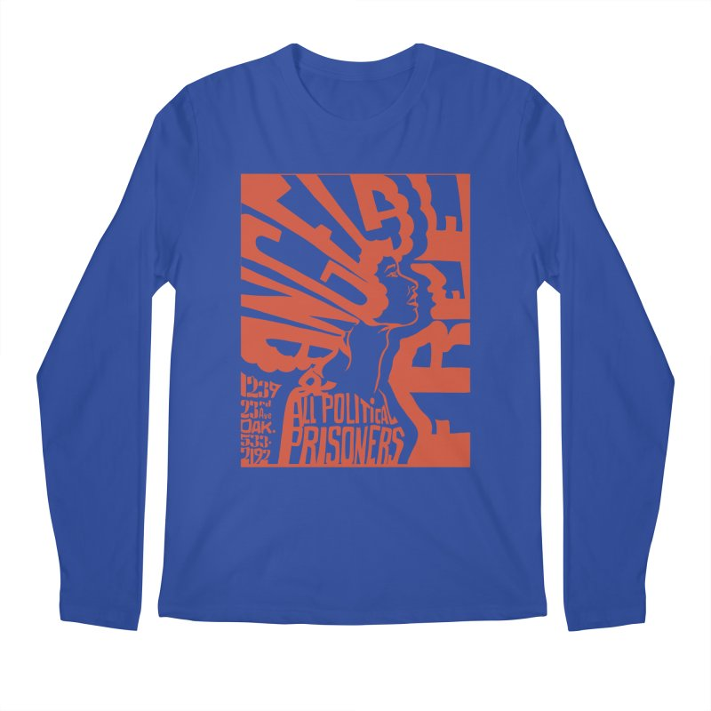History Art Collective no.002: Free Angela Davis & All Political Prisoners Men's Longsleeve T-Shirt by Mister Earl Grey