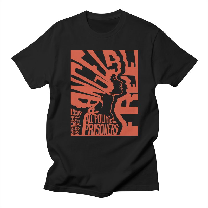 History Art Collective no.002: Free Angela Davis & All Political Prisoners Men's T-shirt by Mister Earl Grey
