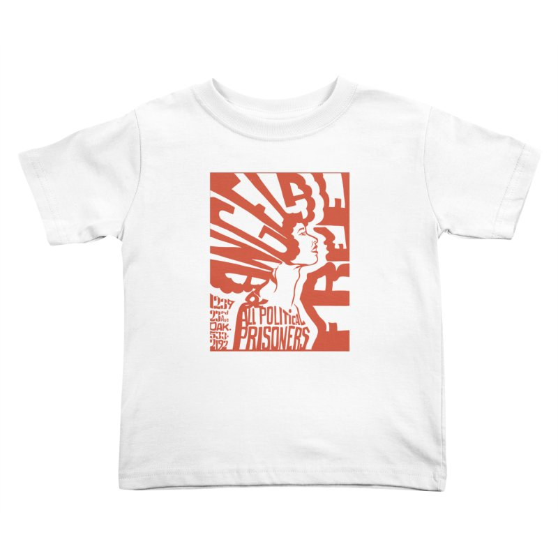 History Art Collective no.002: Free Angela Davis & All Political Prisoners Kids Toddler T-Shirt by Mister Earl Grey