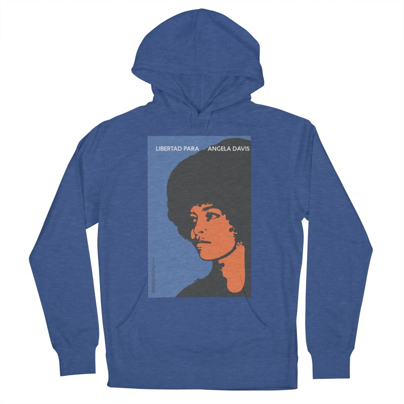 History Art Collective no.003: Libertad Para Angela Davis Men's Pullover Hoody by Mister Earl Grey