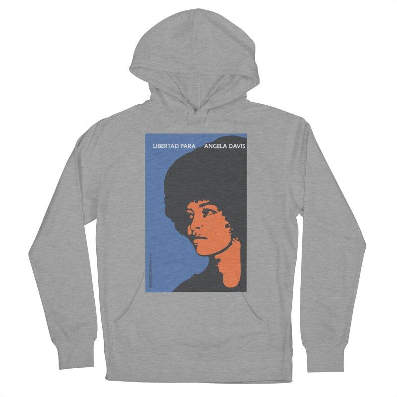 History Art Collective no.003: Libertad Para Angela Davis Men's Pullover Hoody by Mister Earl Grey