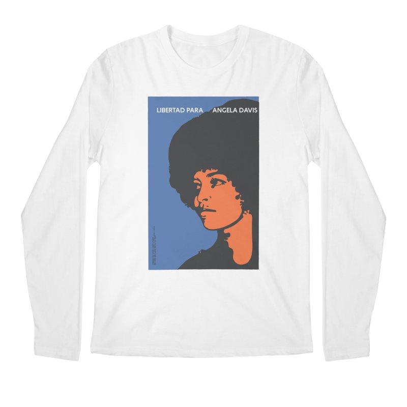 History Art Collective no.003: Libertad Para Angela Davis Men's Longsleeve T-Shirt by Mister Earl Grey
