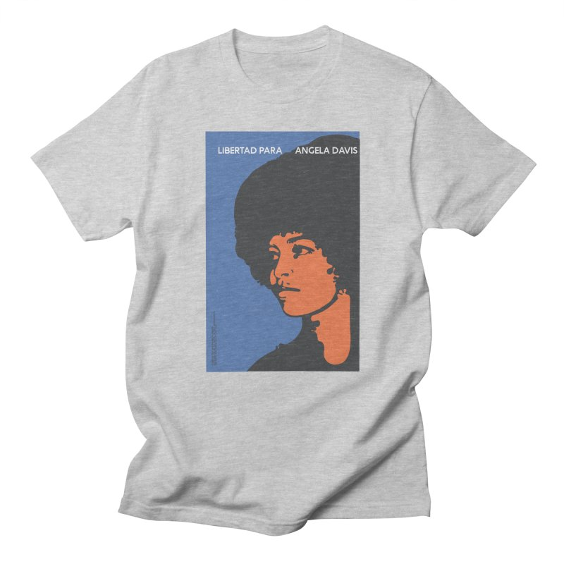 History Art Collective no.003: Libertad Para Angela Davis Men's T-shirt by Mister Earl Grey