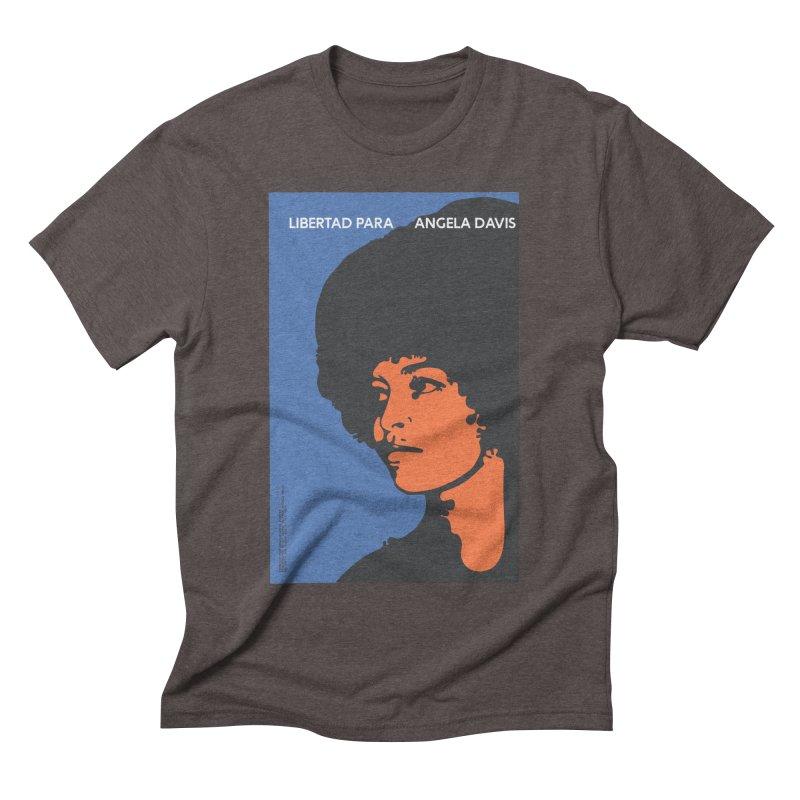History Art Collective no.003: Libertad Para Angela Davis Men's Triblend T-shirt by Mister Earl Grey